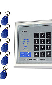 5YOA AC-10KeyTK4100 액세스 제어 시스템 세트 / 액세스 제어 키패드 RFID 암호 / ID 카드 홈 / 아파트 / 학교