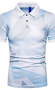 T-shirt Per uomo Monocolore Blu XL