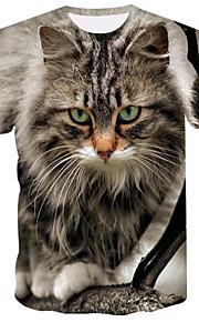Camiseta hombre - animal / estampado 3d.