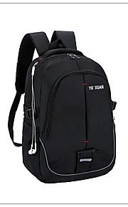 7967419b55ca Női Táskák Műanyag hátizsák Cipzár Tömör szín Fekete