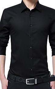 Skjorte Herre - Ensfarget Vin XXXXXL