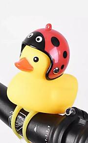 zvonek kachna světlo roh zvonek helma pro skútry špína děti kapesní kolo motocykl řídítka