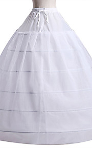 nevěsta 50. léta Kostým Klasická a tradiční lolita Dámské Spodnička Krinolína Bílá Retro Cosplay Svatební Párty Princess