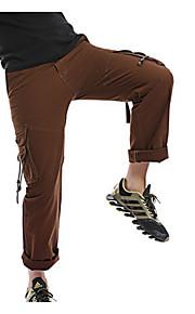Hombre Básico Chinos Pantalones - Un Color Marrón claro
