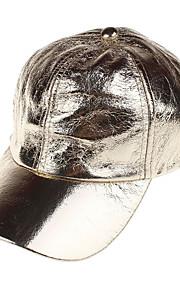 Unisex Základní Kšiltovka-Jednobarevné Džínovina Celý rok Zlatá Stříbrná Fuchsiová