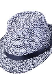 Pánské Party Základní Bucket klobouček-Květinový Barevné bloky Bavlna Celý rok Šedá Khaki