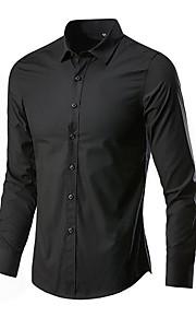 Skjorte Herre - Ensfarget Rosa XXXL