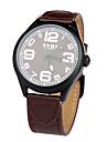 Bărbați Împingere-tragere PU Bandă Ceas de Mână