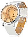 alb diamant in forma de inima ceas de mână