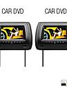 "7 ""Digital tetiera auto cu ecran DVD player (transmițător FM, USB / SD)"