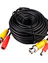 cctv kabel, video-strömkabel, RG59 koaxialkabel, längd: 10m
