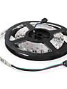 RGB-ljusslingor Flexibla LED-ljusslingor 300 lysdioder RGB Färgskiftande DC 12V DC 12 V