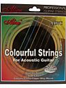 alice a407c stål akustisk gitarr strängar