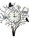 """26 """"păsări de fier Ceas de perete"""