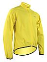 SANTIC Homme / Femme Veste de Cyclisme Velo Veste / Impermeable / Hauts / Top Etanche, Sechage rapide, Pare-vent Vert Tenues de Cyclisme