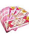 Mer accessoarer Inspirerad av Annat Cardcaptor Sakura Sakura Kinomoto Animé Cosplay-tillbehör Kort Papper Dam