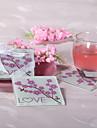 Cherry Blossom roller-coastere din sticlă de dragoste (set de 2)