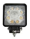 24W dreptunghi 8 LED-uri de lumină de lucru