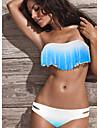 ciucuri de femei de culoare albastru deschis gradient de culoare costume de baie