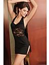 Ultra sexy dantelă rochie mini femei (lungime: 60 cm bust :86-102 cm talie :58-79 hip :90-104cm)