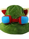 Pălărie/Șapcă Inspirat de LOL Teemo Anime/ Jocuri Video Accesorii Cosplay Pălărie Șapcă Lână polară Bărbătesc