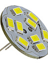 2W 6000 lm G4 LED Spot Lampen 9 Leds SMD 5730 Natuerliches Weiss DC 12V
