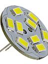 2 W 6000 lm G4 Spoturi LED 9 LED-uri de margele SMD 5730 Alb Natural 12 V