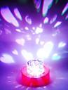 Designul inima duble lampă cu LED (culoare schimbare, built-in celula botton)