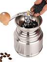 Stainless Steel Grinder Muller Manual de cafea Mill, W16.5cm x L9.5cm x H9cm