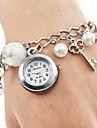 pentru Doamne Ceas La Modă Ceas Brățară Quartz Japonez Quartz Aliaj Bandă Perle Charm Elegant Alb