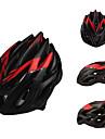2013 nya utformade PC Material Justerbar Matte Black och Red Hjälmar Cykling (23 Vents)