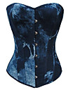 corset gotic lolita rochie lolita clip-on albastru femei accesorii lolita culoare gradient lolita bumbac / poliester panza