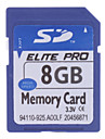 8gb hi-speed Elite Pro sd minneskort (blå)