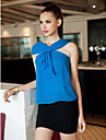 TS Asymmetrical Sleeveless Ruffle Front Top(More Colors)