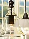 60W E27 lumina pendente cu umbra de sticlă