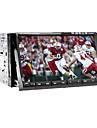 7-tums 2 DIN tft-skärm i-dash bil dvd-spelare med iPod-ingång, rds, bluetooth, navigationsklara gps, tv