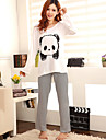 Femeile lui Cute Panda model Casual Wear Lounge