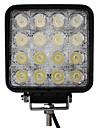 48W 16 LED-uri lumina de lucru Piața