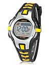 Copii Ceas Sport Ceas La Modă Ceas digital Piloane de Menținut Carnea Alarmă Calendar Cronograf LCD Cauciuc Bandă Negru Roșu Orange Verde
