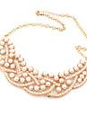 Pentru femei Perle Coliere cu Pandativ / Guler - Perle Lux, European Coliere Pentru Petrecere