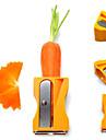 Nyanländ Creative Multifunktionell grönsak frukt skalare / Zester Nödvändigt Kitchen Sharpener Modeling Peeler