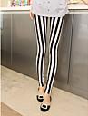 Feminin Imprimeu Legging,Bumbac Polyester