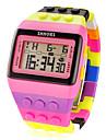 Pentru femei Ceas digital Piloane de Menținut Carnea Alarmă Calendar Cronograf Piloane de Menținut Carnea femei Charm Modă - Roz / LCD