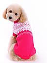 Câine Pulovere Îmbrăcăminte Câini Draguț Modă Nod Papion Trandafiriu Costume Pentru animale de companie