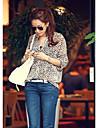 Femei Casual tricou Leopard