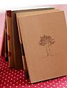 dröm tid kraftpapper omslag dagbok anteckningsbok (slumpmässig färg)