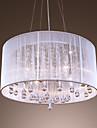 4-Light Tobă Lumini pandantiv Lumini Ambientale - Cristal, 110-120V / 220-240V Becul nu este inclus / 20-30㎡ / E12 / E14