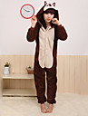 kigurumi Pyjamas Chipmunk Souris Costume polaire Kigurumi Collant / Combinaison Cosplay Fete / Celebration Pyjamas Animale Halloween