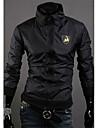 DD Bär personlig Stand Collar Short Lamborghini LOGO Jacket (Black)