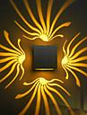 AC 85-265 3W LED Integrat  Modern/Contemporan Galvanizat Caracteristică for LED Bec Inclus,Lumină Ambientală Lumina de perete